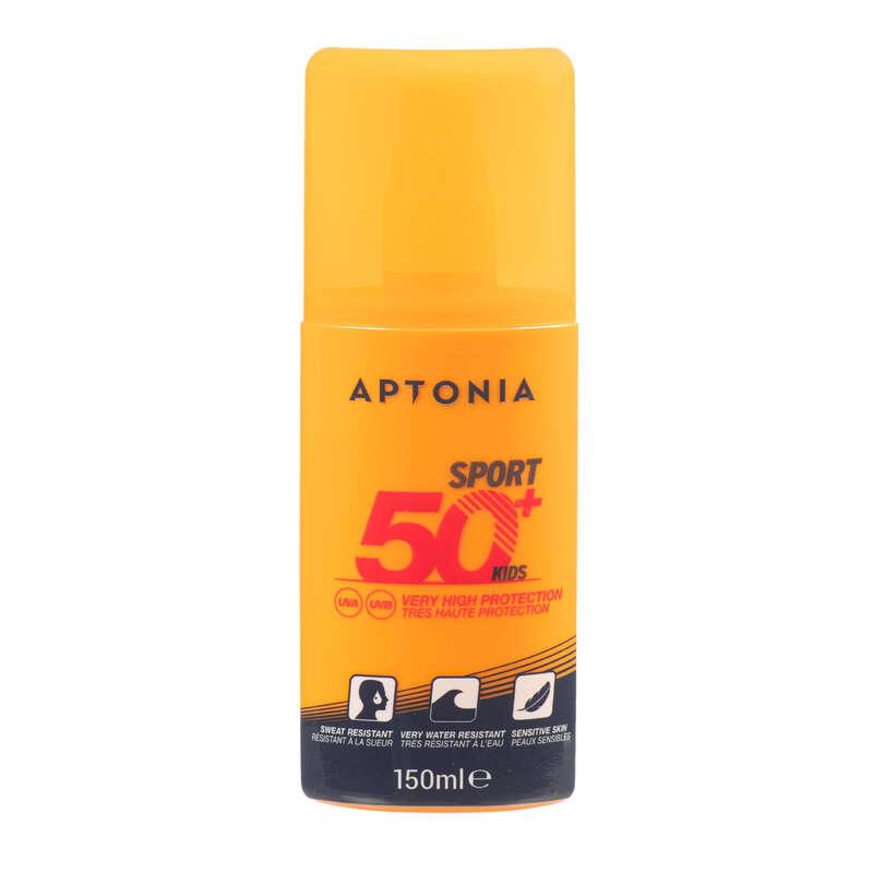 Bőrvédelem nyáron Futás - Napvédő spray IP50+,150 ml APTONIA - Futás