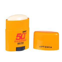 Stick protection solaire sport 2 en 1 visage et lèvres IP50+