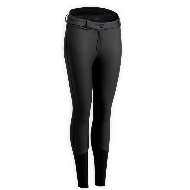 Reitbekl. Damen Winter Reitsport - Winter-Reithose Kipwarm Damen FOUGANZA - Reiter