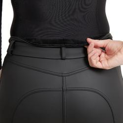 Pantalon chaud et imperméable équitation femme KIPWARM mari