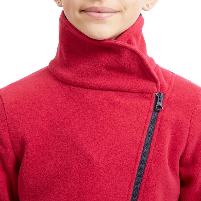 Polaire équitation enfant 100 rose