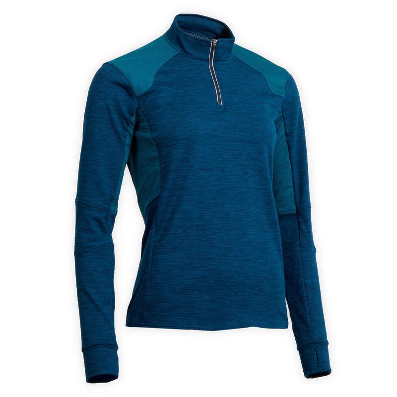 Îmbrăcăminte echitație damă vreme rece Imbracaminte - Bluză Polo 500 damă FOUGANZA - Topuri