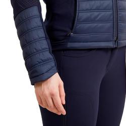 Veste équitation femme marine 900