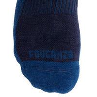 Adult Warm Horse Riding Socks 500 Warm - Navy/Midnight Blue