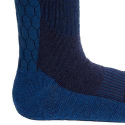 Warme paardrijsokken voor volwassenen 500 Warm marineblauw en nachtblauw