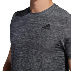 T-SHIRT FITNESS CARDIO TRAINING HOMME ADIDAS GRIS