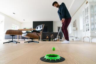 le golf à la maison