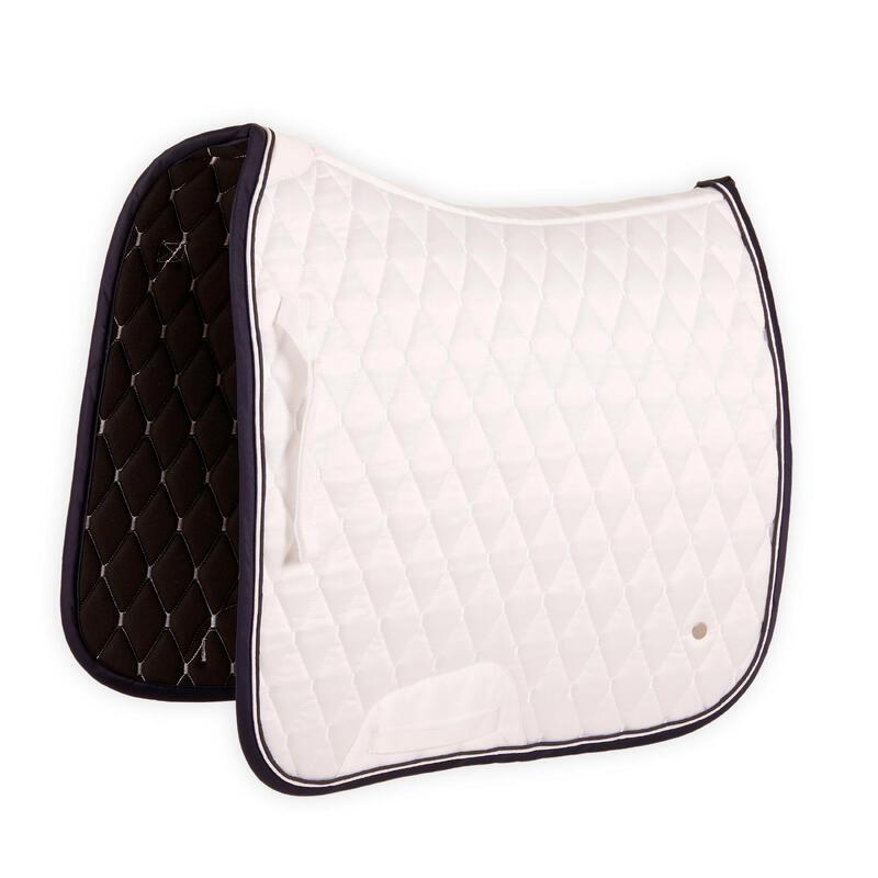 Horse Dressage Saddle Cloth 900 - White
