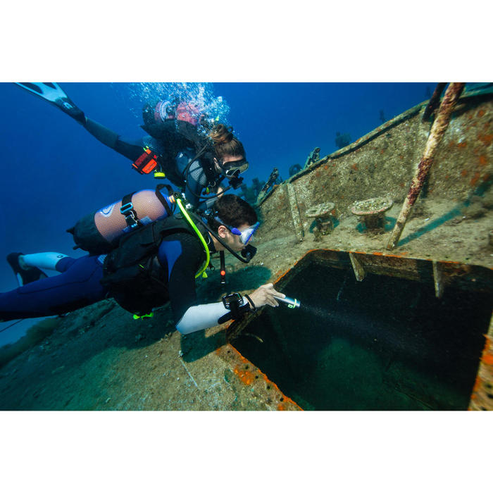 Gilet Stabilisateur de plongée sous marine SCD 900 à grande flottabilité