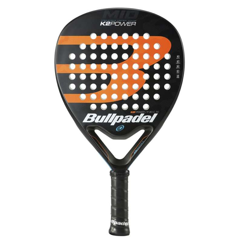 RACKETAR FÖR PADEL, VUXEN Racketsport - Padelracket SP K2 POWER 20 BULL PADEL - Padel