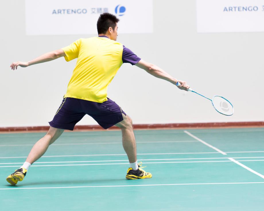 Badminton footwork