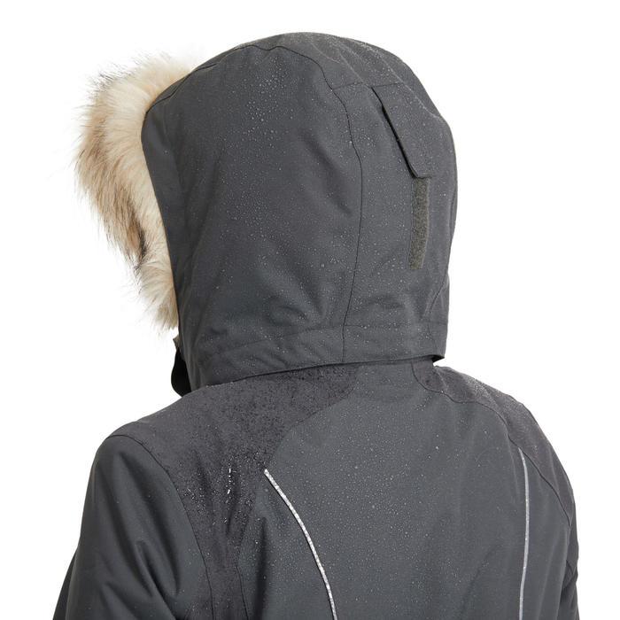Veste équitation femme chaude et imperméable grise 580