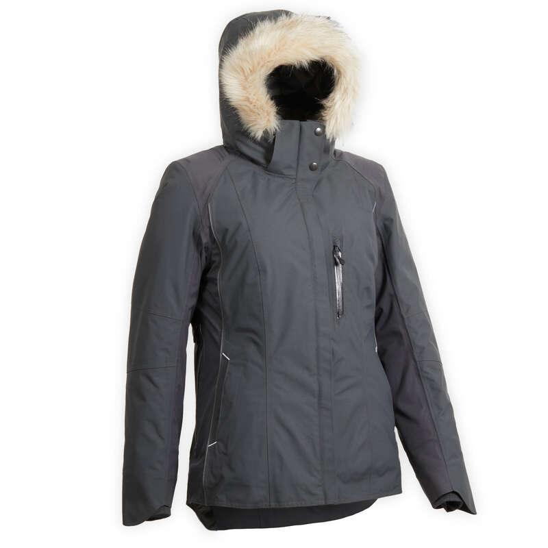 Jachete vreme rece femei Echitatie - Jachetă 580 WARM gri damă FOUGANZA - Echitatie