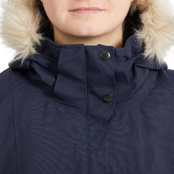 Winter-Reitjacke 580 Damen wasserdicht marineblau