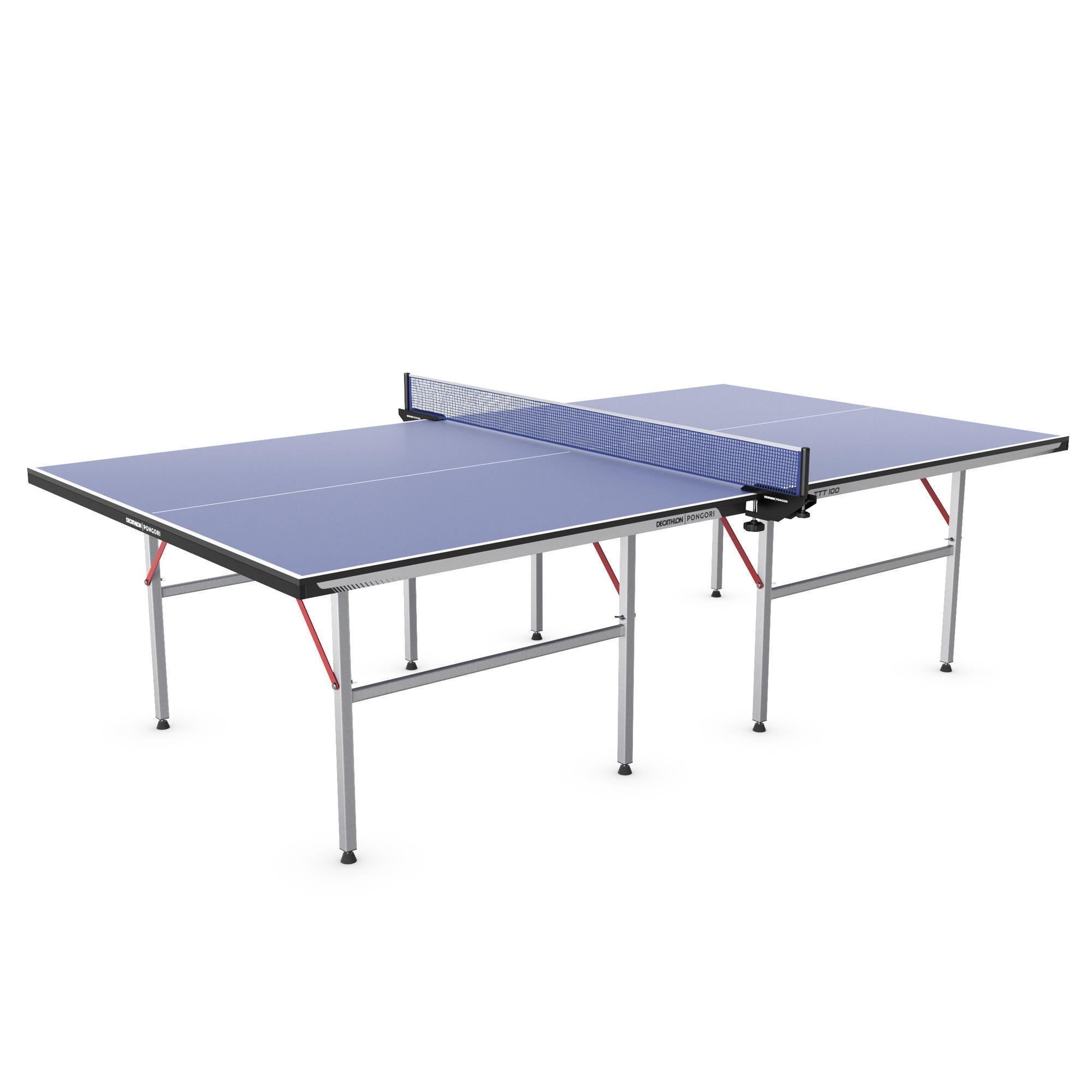 Tables Indoor Interieur De Ping Pong Decathlon