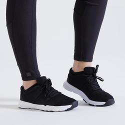 Chaussures de fitness 100 femme noir