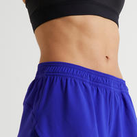 2-in-1 Anti-Chafing Fitness Shorts - Blue