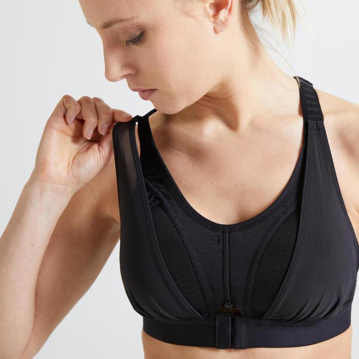 女款有氧健身運動內衣920 - 黑色
