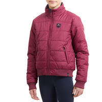 Kids' Horse Riding Synthetic Down Jacket 500 - Kids'