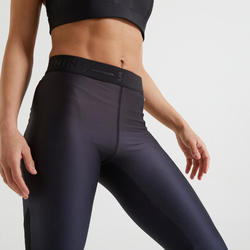 Legging Fitness avec poche dégradé bleu