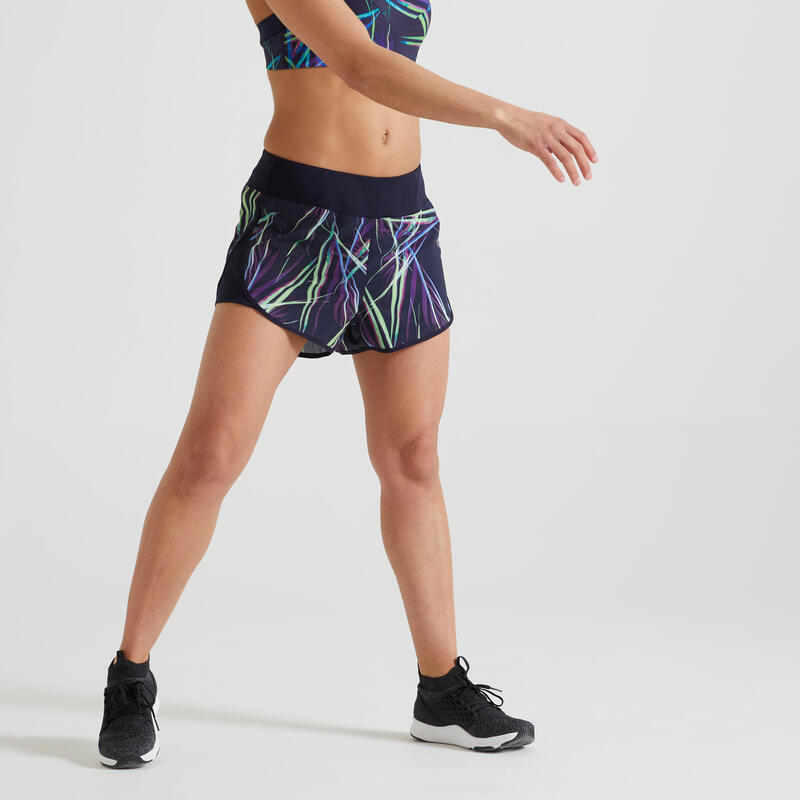 Short Fitness ample imprimé