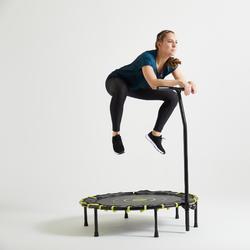 T-shirt fitness cardio training femme vert foncé 120
