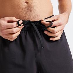 Short fitness cardio training homme noir 120 éco-responsable