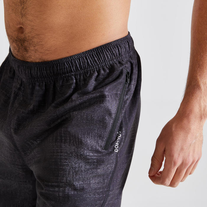 Short voor cardiofitness heren 120 milieuvriendelijk zwart