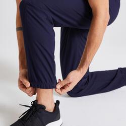 有氧健身訓練環保運動褲120 - 軍藍色