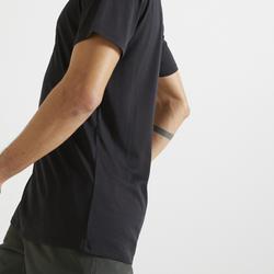 T-shirt voor Cardiofitness Training heren 100 zwart