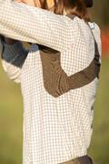 DÁMSKÉ OBLEČENÍ NA LOV Myslivost a lovectví - DÁMSKÁ KOŠILE 500 SOLOGNAC - Myslivecké oblečení