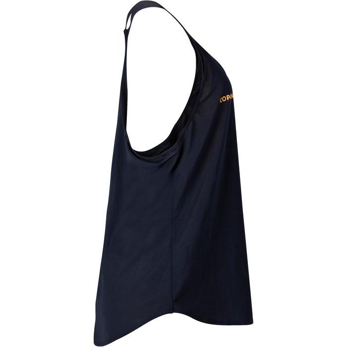 Beachvolleybaltopje dames BVD500 blauw/geel