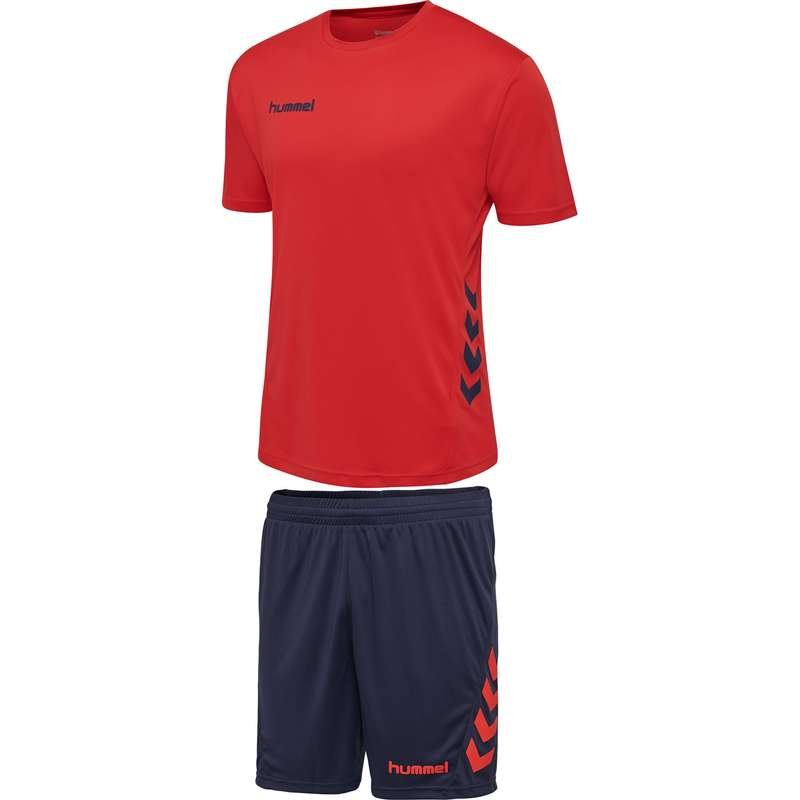 Férfi kézilabda ruházat, cipő Kézilabda - Hummel promo duo set red/blue HUMMEL - Sportok