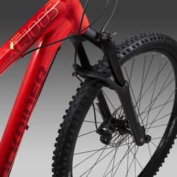"Cross country mountainbike XC 100 S 29"" Eagle rood/geel"