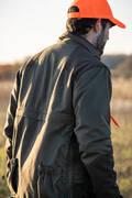KALHOTY, KOŠILE Myslivost a lovectví - BUNDA 900 ZELENO-HNĚDÁ SOLOGNAC - Myslivecké oblečení