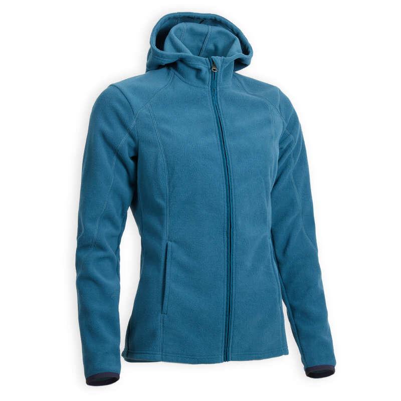 Női téli ruházat Lovaglás - Polárfelső 2 az 1-ben FOUGANZA - Lovas ajánlatok