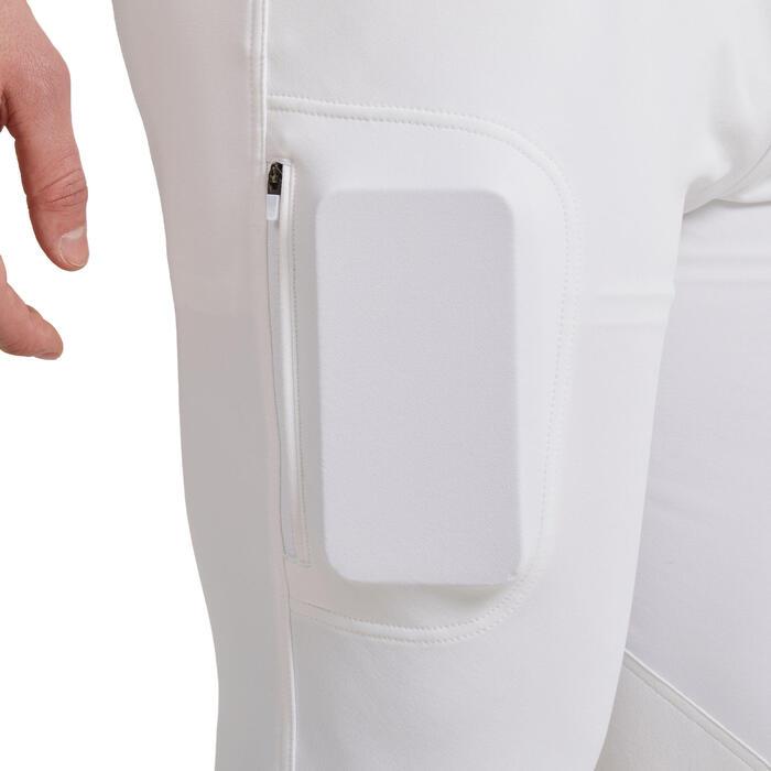 Pantalon de concours équitation homme 500 Blanc