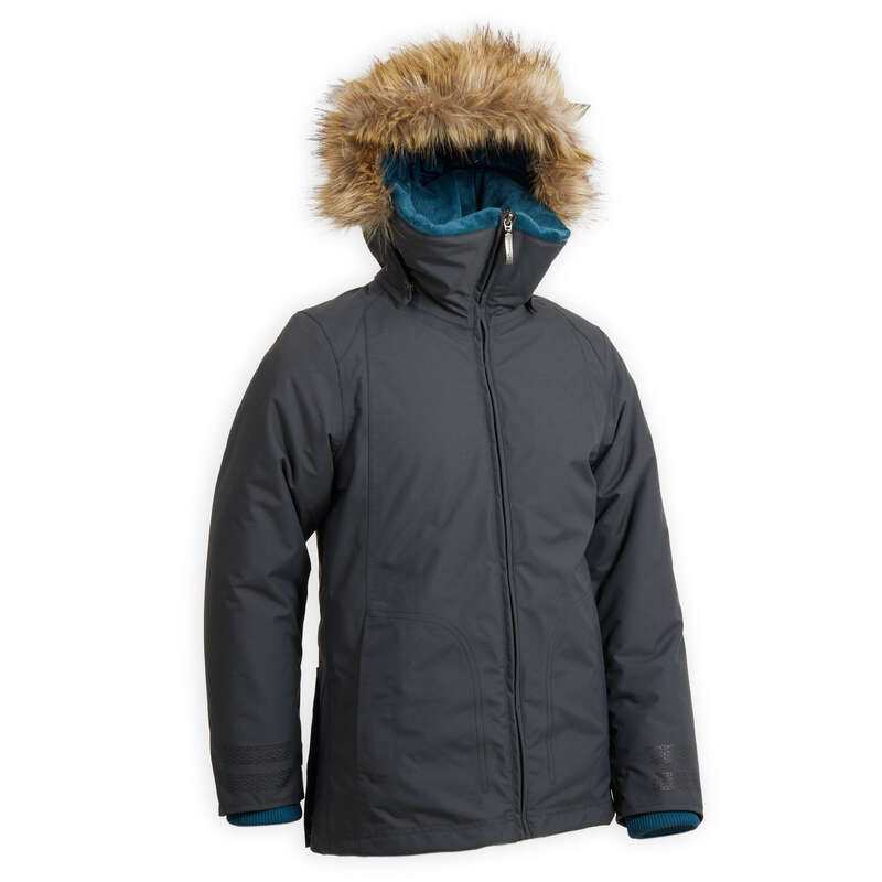 Jachete vreme rece juniori Echitatie - Jachetă Parka 500 WARM Copii FOUGANZA - Echitatie