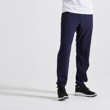 Eco-Friendly Fitness Bottoms - Navy Blue