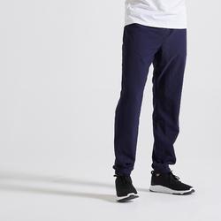 Pantaloni uomo fitness 120 blu