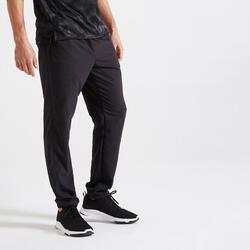 Broek voor fitness milieuvriendelijk zwart