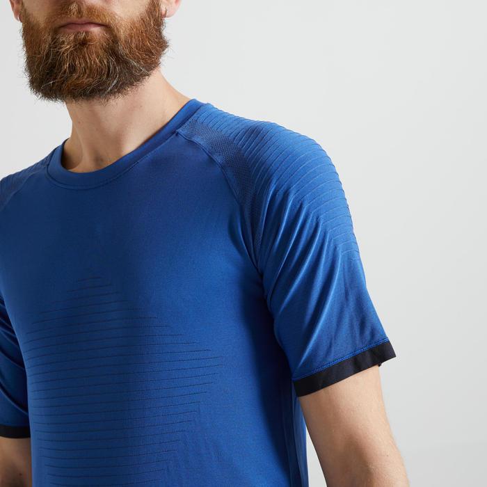 T-shirt voor cardiofitness heren 900 blauw