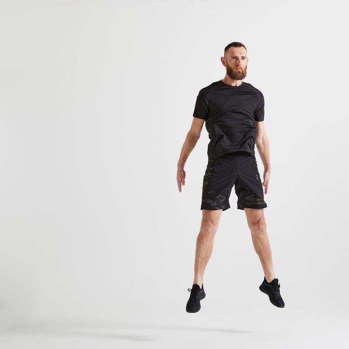 FTS 900 Fitness Cardio Training T-Shirt - Black
