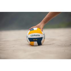 Ballon de beach-volley BVBS100 bleu et jaune