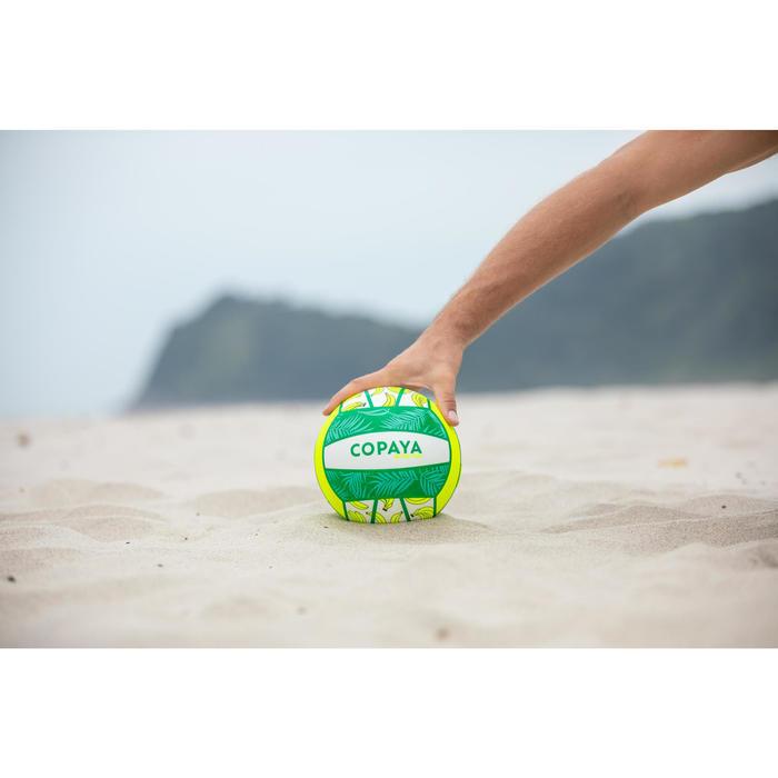 Bal voor beachvolley BV100 Fun fluogroen