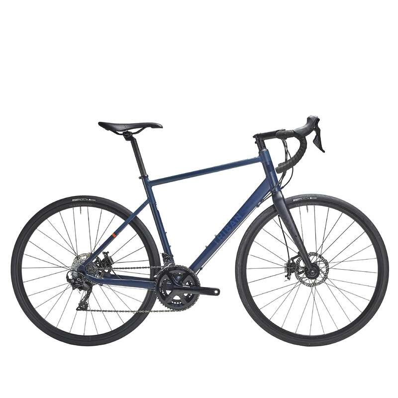 ORSZÁGÚTI KERÉKPÁROK TÚRAKERÉKPÁROZÁSHOZ Kerékpározás - Országúti kerékpár RC520 TRIBAN - Kerékpár