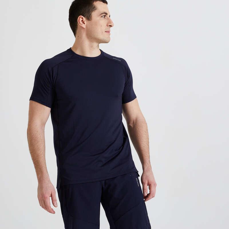 Fitnesz Cardio Férfi ruházat kezdő Fitnesz - Férfi póló FTS 500 Mesh DOMYOS - Fitnesz