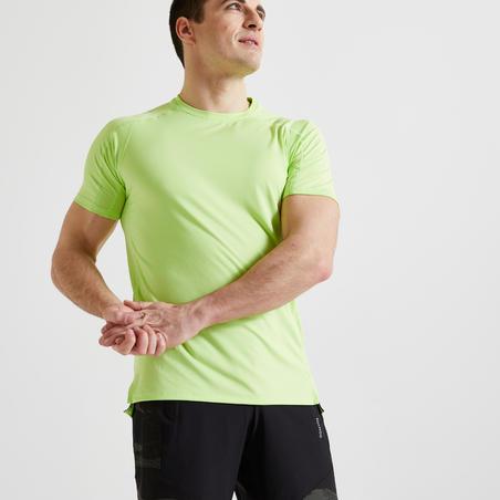 Fitness Cardio Training T-Shirt 520 - Eco-Friendly Green