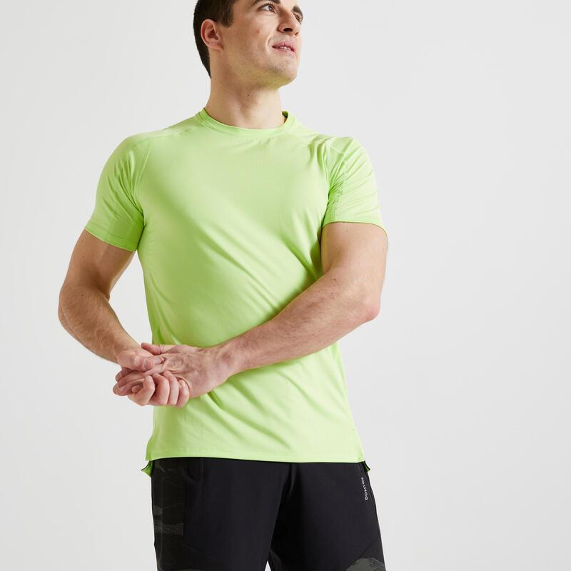 T-shirt Fitness cardio training vert éco-responsable 520