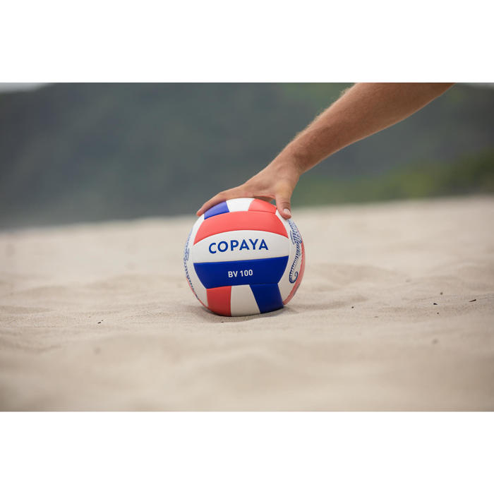 Bal voor beachvolley BVBS100 koraalrood